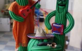 Cactus animatronici