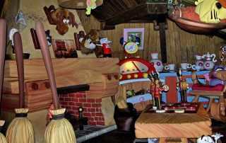 Casa di prezzemolo a Gardaland