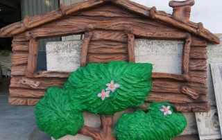 Casetta su albero per playgorund