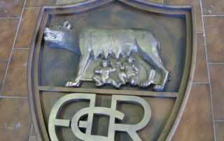 Riproduzione stemma ufficiale as Roma calcio
