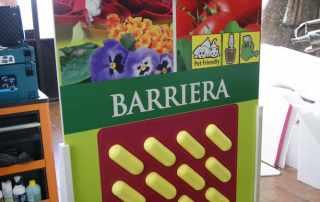 riproduzione gigante barriera insetti per vetrina