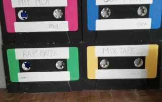Replica audiocassette