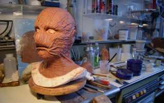Modellatura maschera