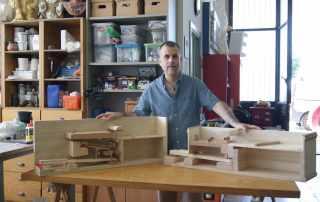 Alessio Pieroni modelli lignei meccanismi