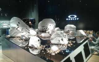 Allestimento per store retail Oakley