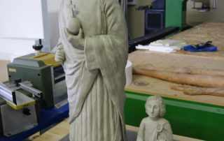 sculture originali per scannerizzazione 3D