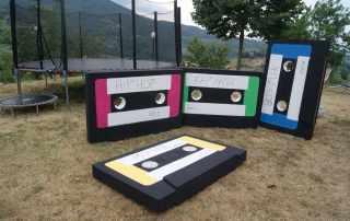 prop audiocassette