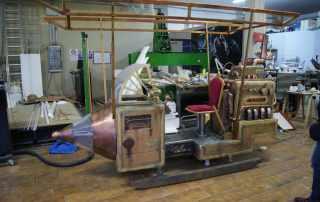 prop dirigibile steampunk