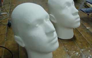 riproduzione teste sculture