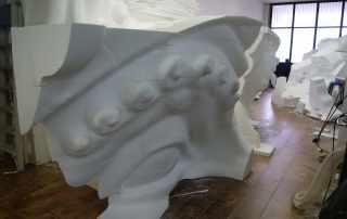 dettaglio scultura gigante