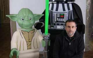 Riproduzione lego Star Wars gigante