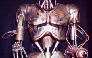 Robot animatronico