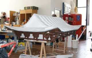 costruzione tetto pagoda
