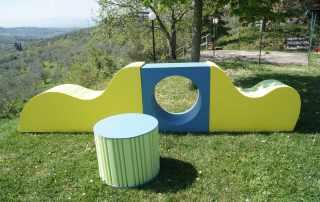 Elementi per parco giochi bambini