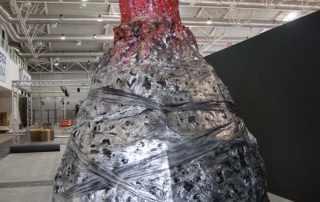 scultura gigante per fiera